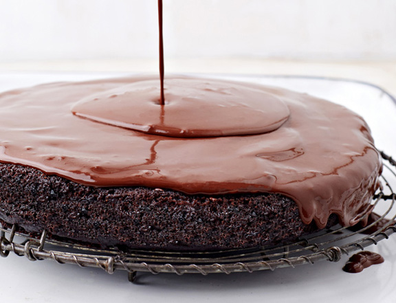 No-Oil-Added Chocolate Torte to Live For LR
