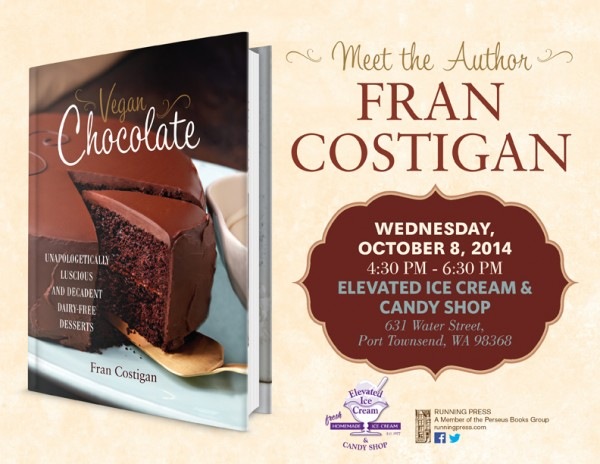 Reading, Tasting and Book Signing at Elevated Ice Cream Co. @ The Elevated Ice Cream Co. | Port Townsend | Washington | United States