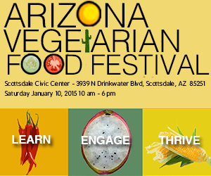 Arizona Vegetarian Food Fest @ The Scottsdale Civic Center Amphitheater | Scottsdale | Arizona | United States