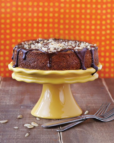 Chocolate Orange and Almond Olive Oil Cake