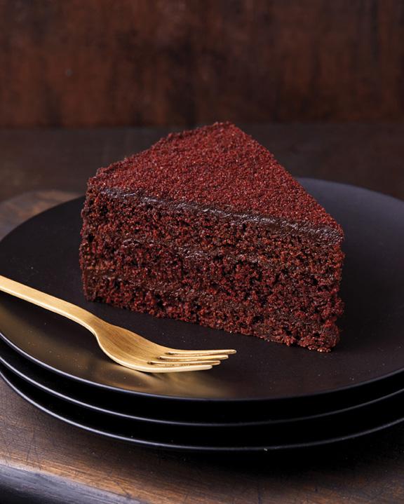 Black Out Cake Slice LR