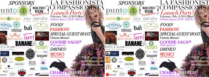 La Fashionista Compassionista Launch Party @ Punto Space | New York | New York | United States