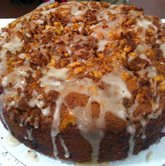 Cinnamon Walnut Un-Coffeecake