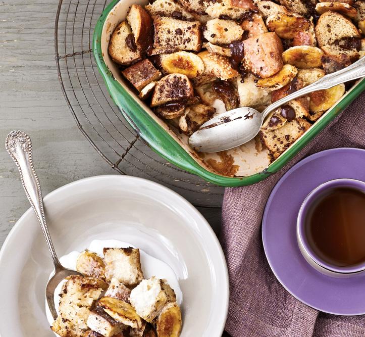 Chocolate Chunk Banana Bread Pudding from Vegan Chocolate by Fran Costigan