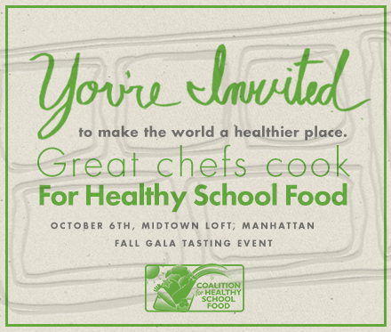 Coalition for Healthy School Foods Fall Gala @ Midtown Loft | New York | New York | United States