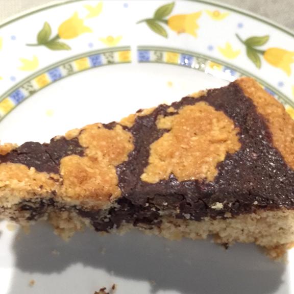 Hazelnut and chocolate Tart B&B Felitto