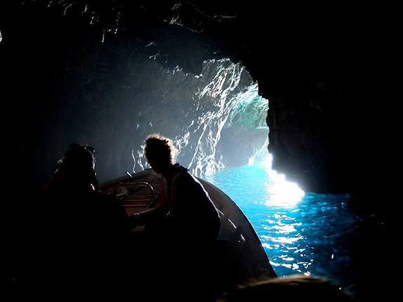 PALINURO BLUE GROTTO