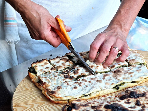 Renata Stuffed Pizza