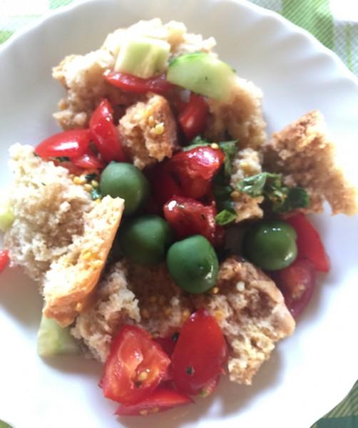Three hour lunch Bread Salad