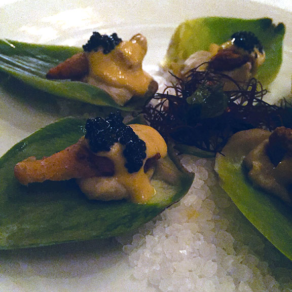 Artichoke Oysters at Crossroads
