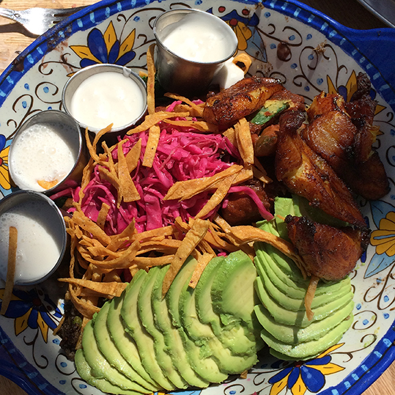 Lunch at Sage Organic Bistro