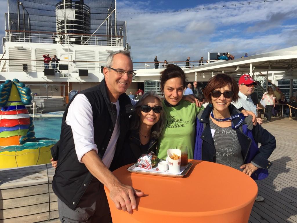 East Coast meets West Coast on Vegan Cruise to Alaska