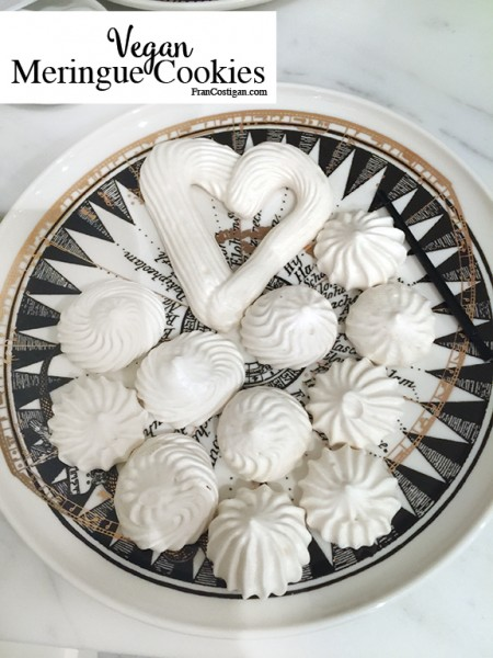 Fran Costigan's Vegan Meringue Cookies