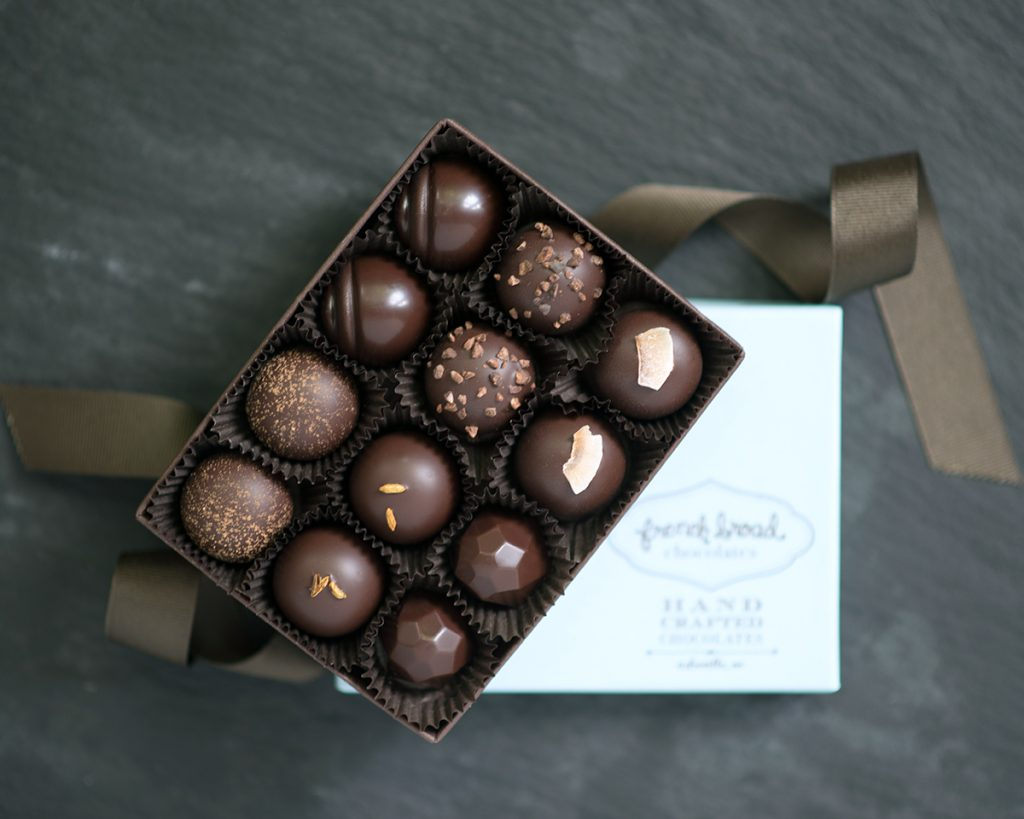 French Broad Chocolates Buddha Collection Truffles