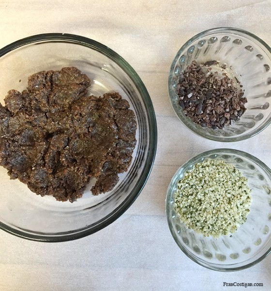 Raw Raisin-Walnut-Hemp Energy Bites - FranCostigan.com