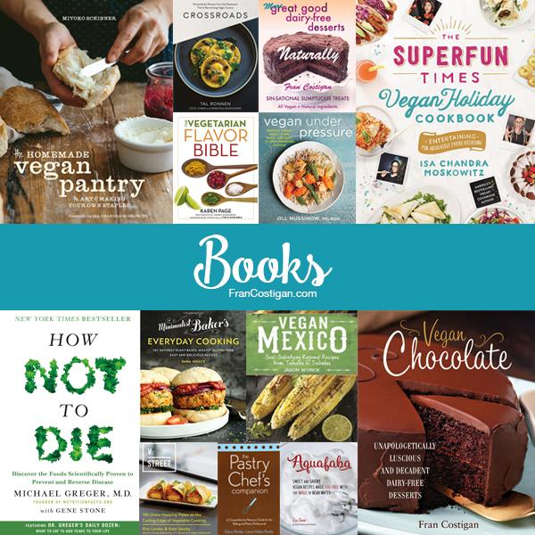 Fran Costigan's 2016 Vegan Holiday Gift Guide - Books
